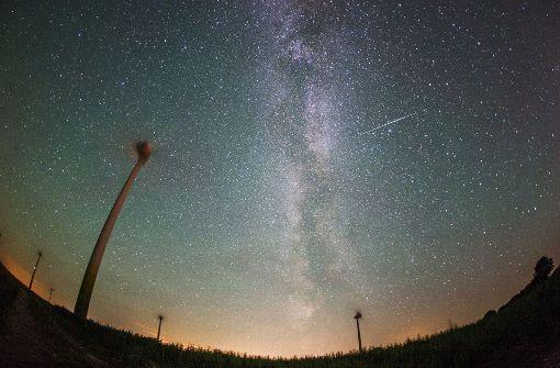 Hier lassen sich die Sternschnuppen gut beobachten
