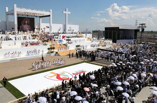 Weltjugendtag geht mit Millionen-Messe zu Ende