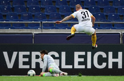 Chancenlos in Hannover: Dresden kassiert wieder Niederlage