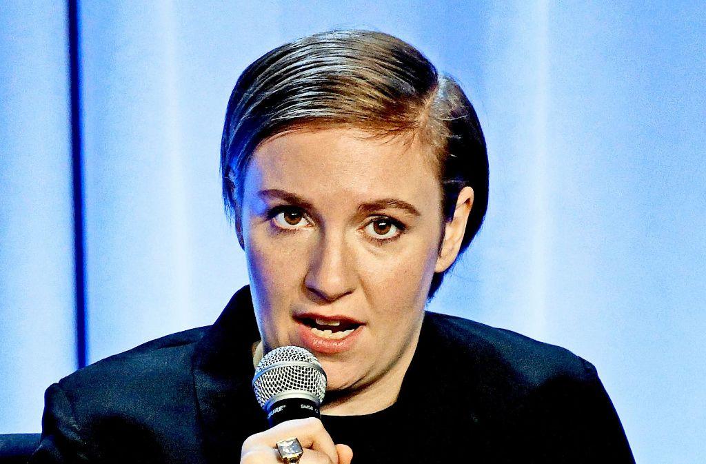 Eine mitstreiterin: die US-Filmemacherin Lena Dunham Foto: dpa