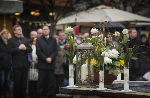 Gedenken gilt allen Trauernden