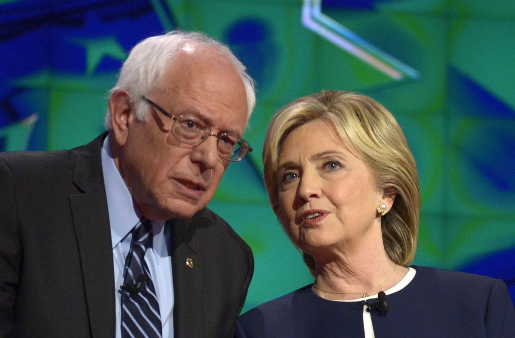 Bernie Sanders hatte bei den Vorwahlen der US-Demokraten gegen Hillary Clinton das Nachsehen. Foto: EPA