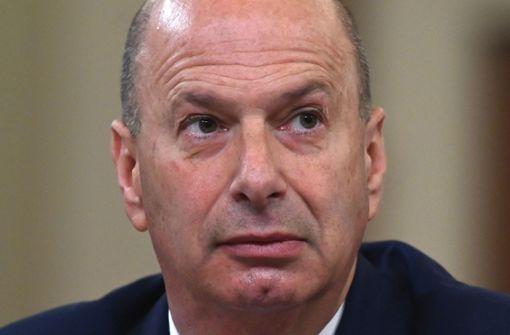 US-Botschafter bei EU verliert Posten