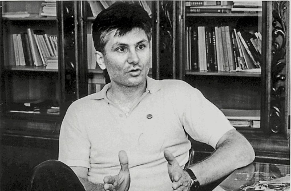 Gut aussehend, charmant, rhetorisch beschlagen: Schon als junger Mann kam Zoran Djindjic gut an. Foto: Zoran-Djindjic-Stiftung