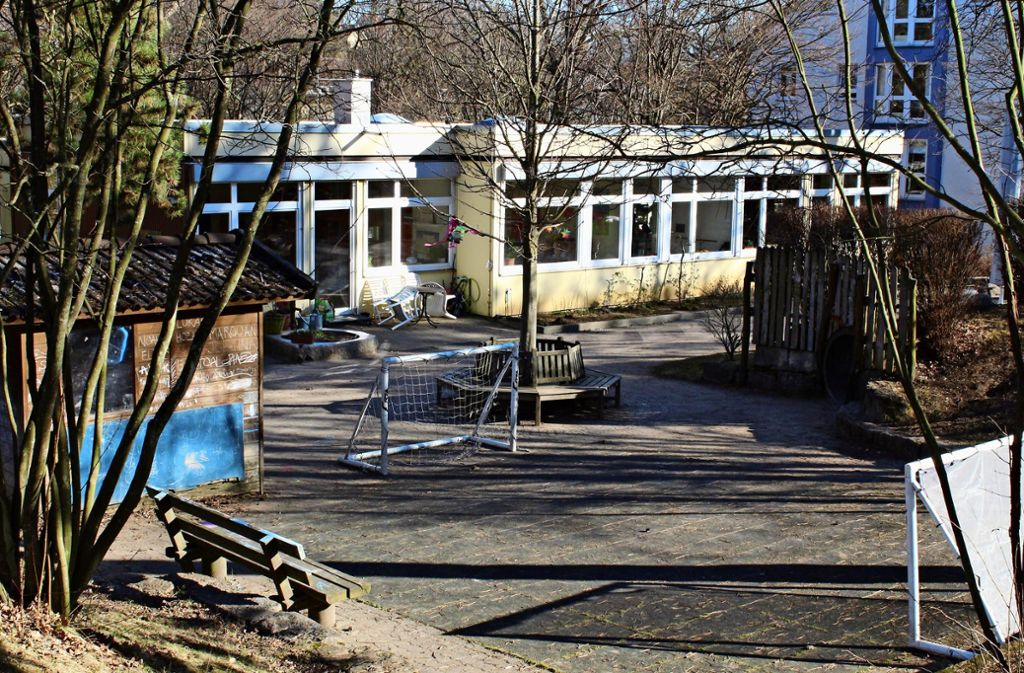 Der Körschkindergarten soll im September 2020 abgerissen werden. Foto: Jacqueline Fritsch