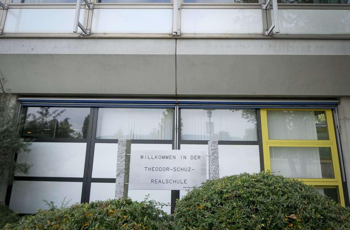 An der Theodor-Schüz-Realschule ist ein Corna-Fall aufgetreten Foto: factum/Simon Granville