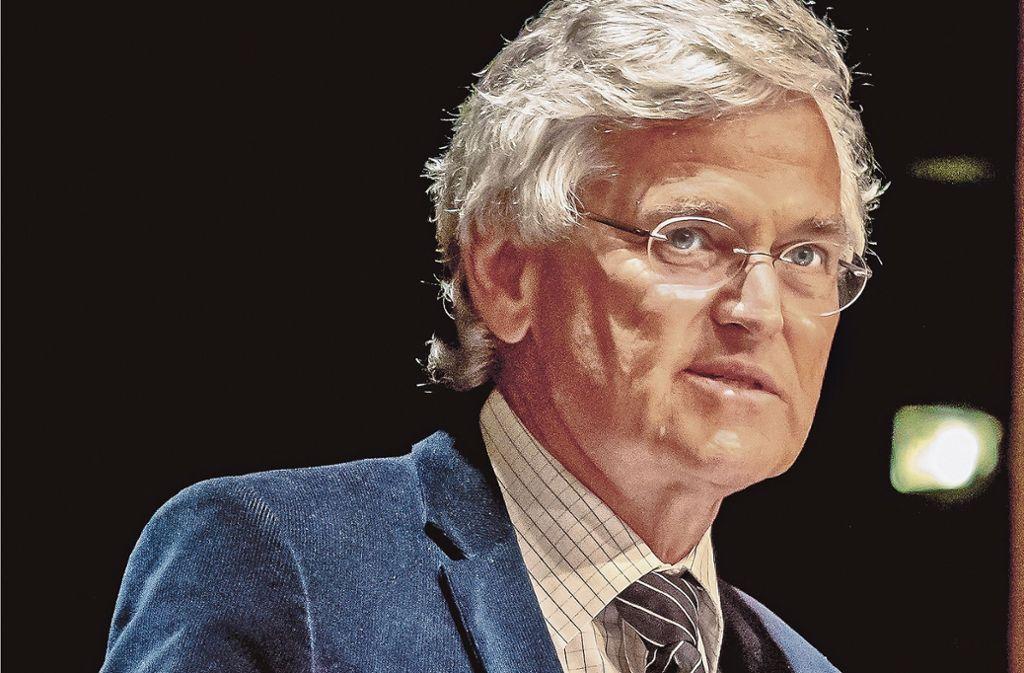 Der ZDF-Chefredakteur  Peter Frey  macht sich  für Europa stark. Foto: