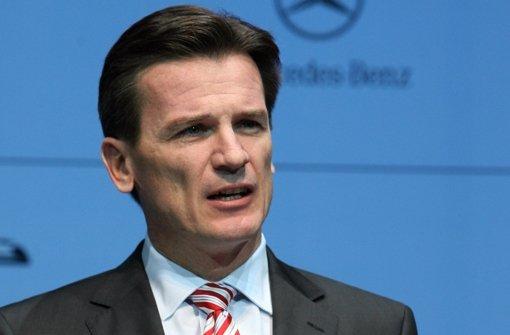 Bernhard drückt bei Daimler aufs Tempo