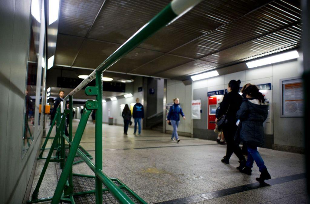 In der Bahnhofsunterführung in Bad Cannstatt eskalierte der Streit. (Archivbild) Foto: Lichtgut/Max Kovalenko