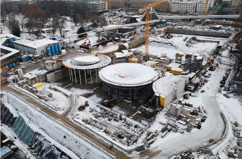 Interessierte können am Wochenende die Großbaustelle am Stuttgarter Bahnhof besichtigen. (Symbolbild) Foto: Andreas Rosar Fotoagentur Stuttgart