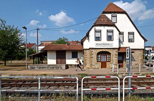 Großer Bahnhof für das  ersehnte Bähnle