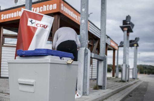 Technische Probleme ärgern Stuttgarter Christdemokraten
