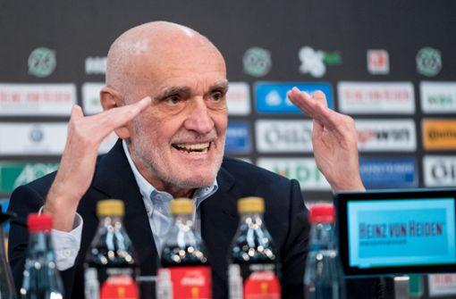 96-Clubchef Kind kritisiert Deutsche Fußball Liga scharf