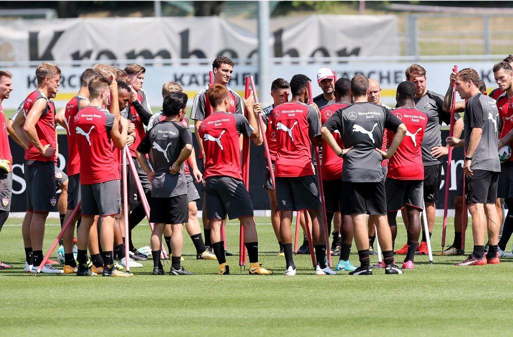 Der Sommerfahrplan des VfB Stuttgart steht nun endgültig. Foto: Pressefoto Baumann