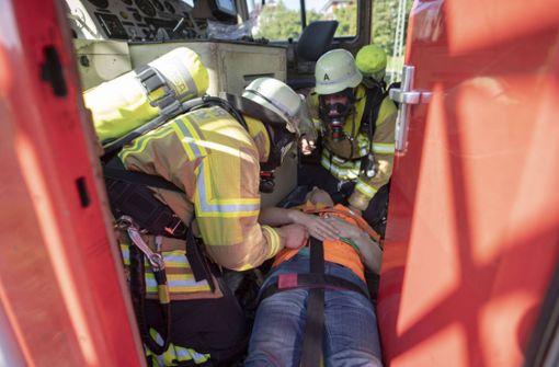 Rettungsdienste proben Ernstfall