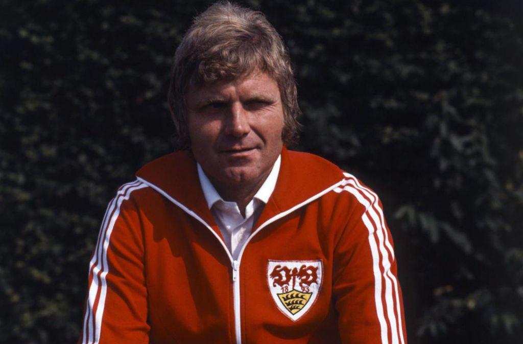 Eine Aufnahme aus der Saison 1978/79: Jürgen Sundermann als VfB-Trainer Foto: Baumann