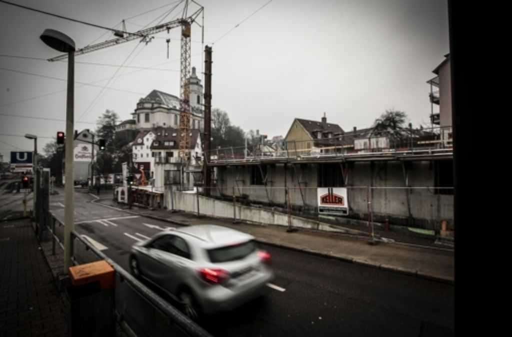 SWSG Neubaugelände für eine Seniorenresidenz in der Talstrasse Foto: Lichtgut/Leif Piechowski