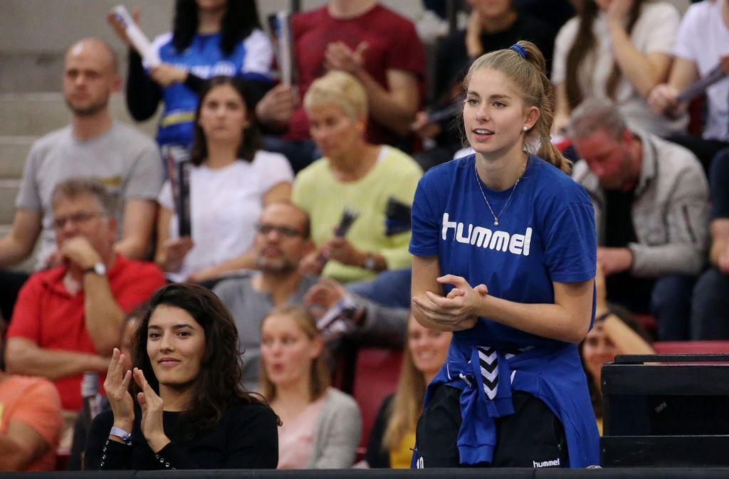 Pia Kästner arbeitet hart  – trotz Corona-Krise. Foto: Baumann/Julia Rahn
