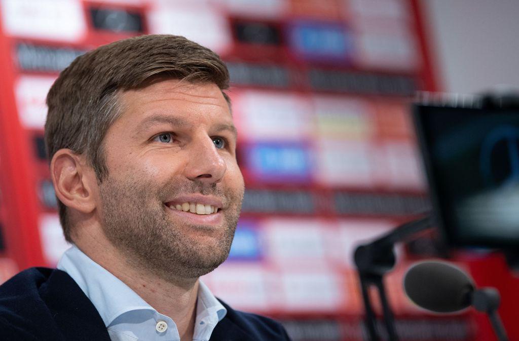 Thomas Hitzlsperger ist der neue starke Mann beim VfB Stuttgart. Foto: picture alliance/dpa/Sebastian Gollnow
