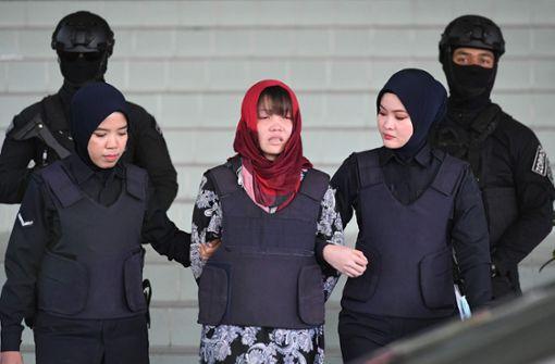 Attentäterin aus Gefängnis entlassen