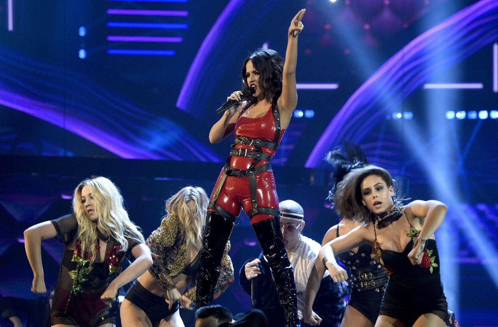 Bei den Latin American Music Awards ging es heiß her. Foto: AP