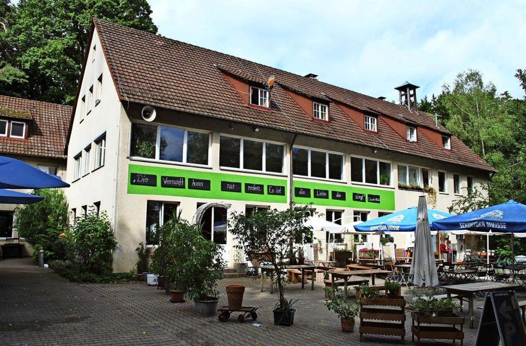 Das Waldheim Frauenkopf – einst beliebter Treffpunkt, heute unzugänglich Foto: Jürgen Brand