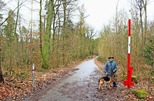 Buowaldstraße: Waldarbeiter lassen Schranke offen