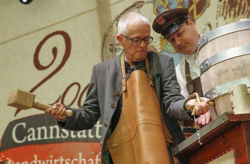 Historisches Volksfest auf dem Schlossplatz eröffnet