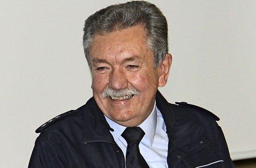 Der letzte Fahrer des Polizei-Käfers geht in den Ruhestand