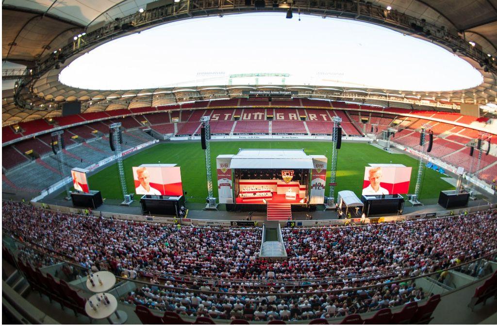 Bei der Mitgliederversammlung des VfB ist die Entscheidung gefallen. Foto: dpa