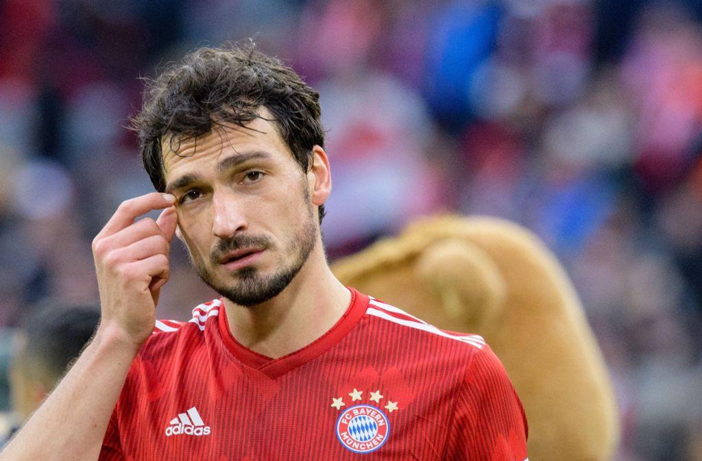 Bayern Mats Hummels ist in der Nationalmannschaft nicht mehr gefragt. Foto: dpa