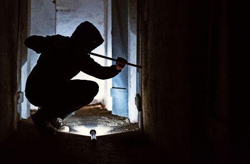Einbrecher machen sperrige Beute – die Wohnungstür