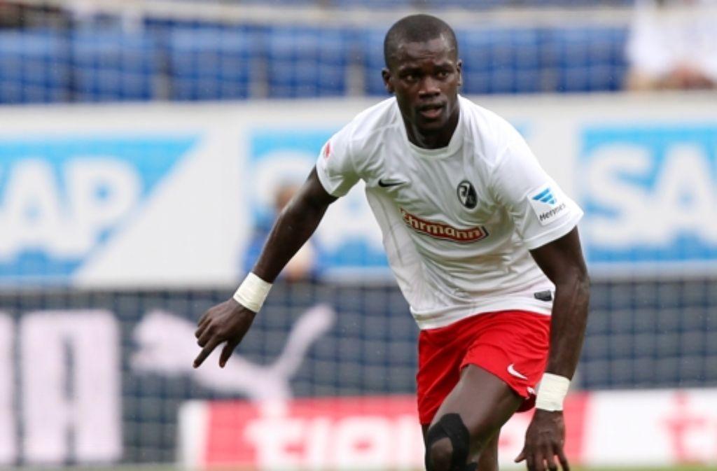 Der Ex-Freiburger Fallou Diagne  steht auf der Wunschliste des VfB. Foto: Pressefoto Baumann