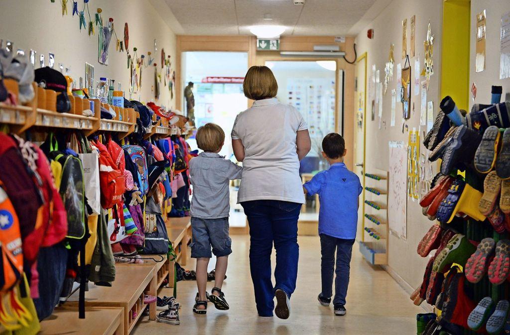 Die Qualität einer Kita zeigt sich daran, wie viele Kinder eine Erzieherin betreuen muss. Foto: dpa