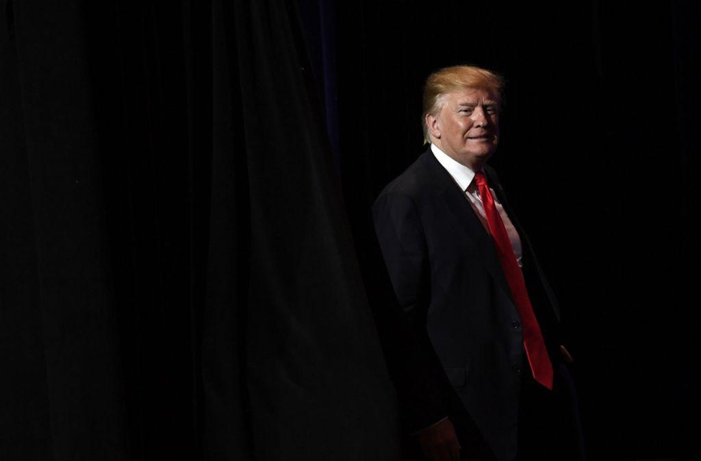 Donald Trump spielt im Mittleren Osten ein gefährliches Spiel. Foto: AP