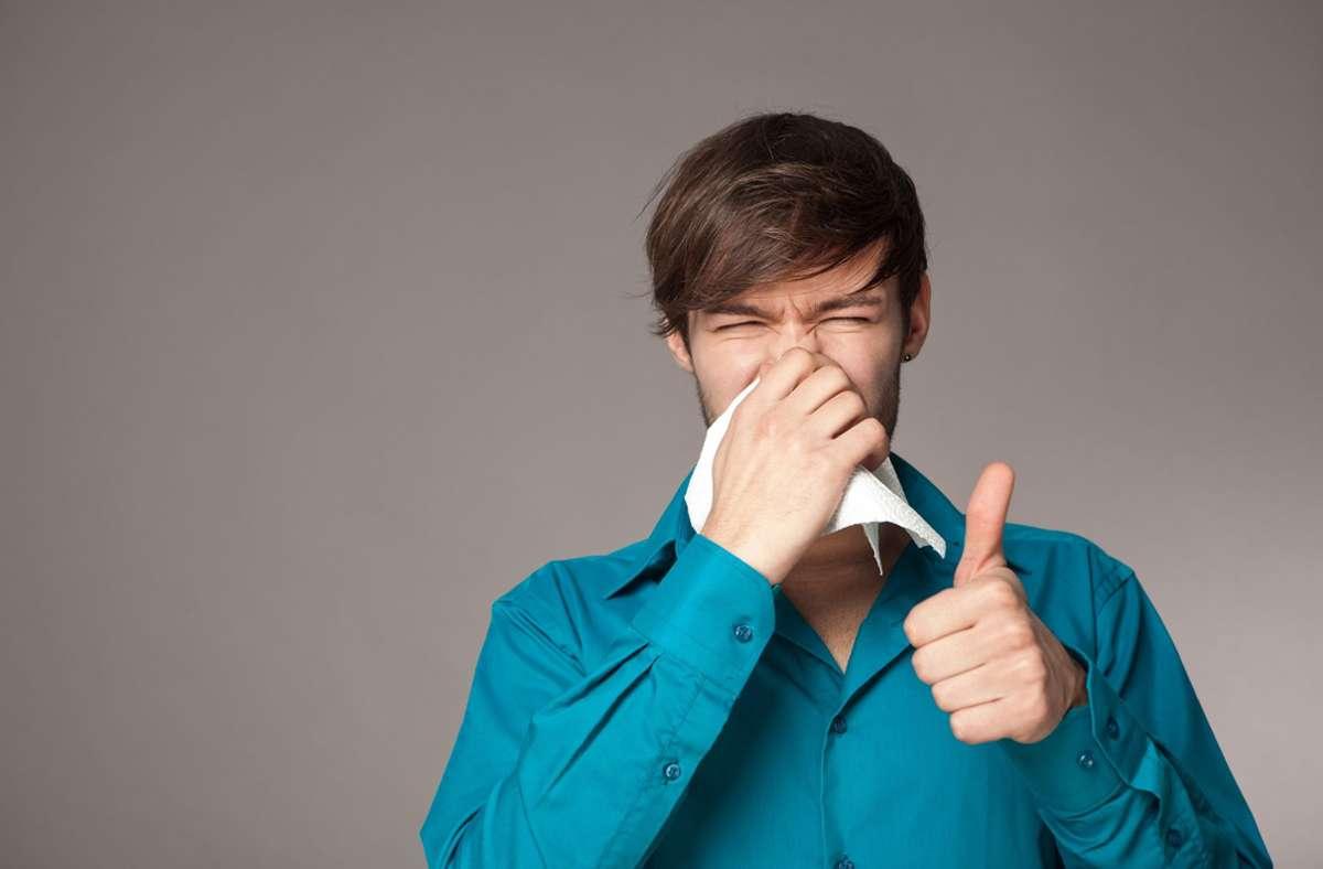 Es gibt viele Mittel, die Erkältungssymptome lindern. Foto: Fotolia/Kristin Gründler