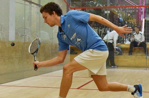 Nicht nur das Bundesliga-Squash-Team mit der Nachwuchshoffnung Valentin Rapp  würde gerne wieder in Vaihingen trainieren und spielen. Foto: Günter E. Bergmann