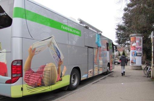 Der Bücherbus hält zu neuen Zeiten