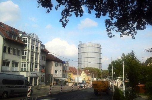 Die Talstraße bleibt noch lange Baustelle