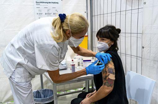 In der Weststadt  geht das Impfen langsam los