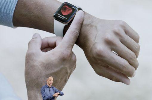 Apple-Watch misst jetzt auch Herztöne