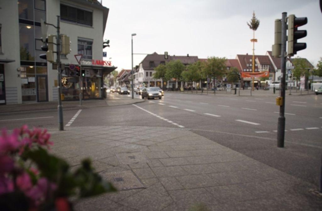 Die Bezirksbeiräte setzen sich dafür ein, dass der Löwenplatz umgestaltet wird. Foto: Leonie Hemminger