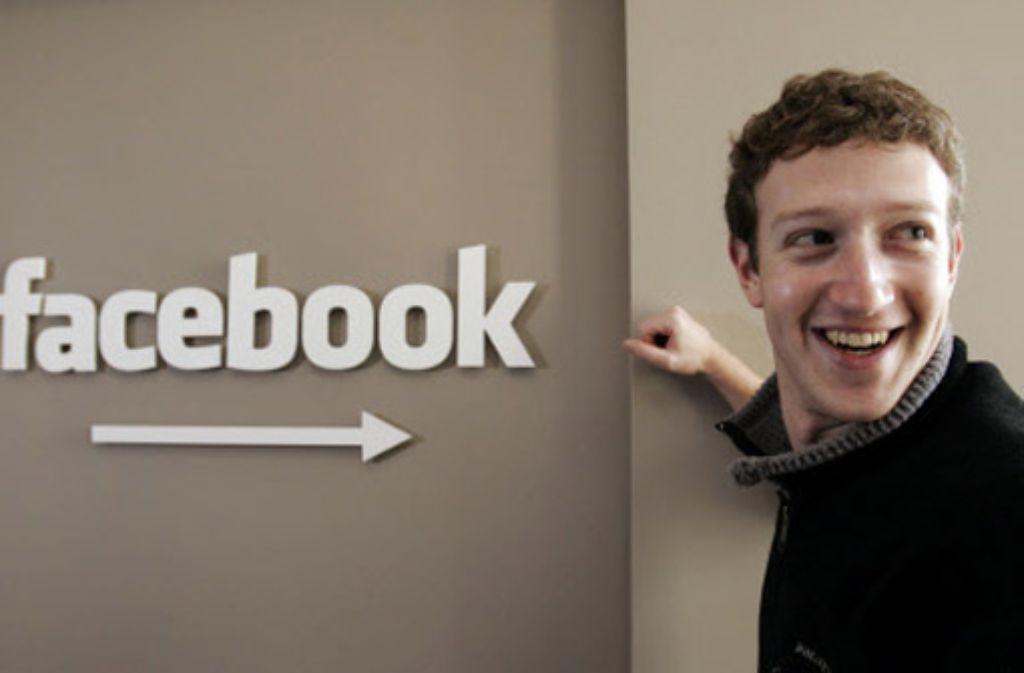 Facebook-Gründer Mark Zuckerberg hat eine eigene Vorstellung von Privatsphäre. Foto: dapd