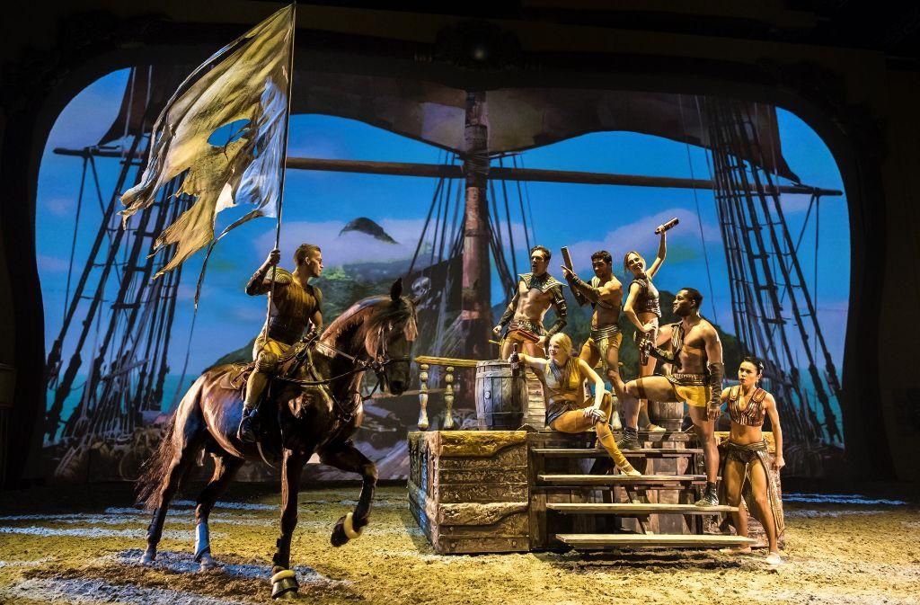 Märchenhaftes auf der Bühne, Glanzvolles mit Ross und Reiter. Foto: z/Apassionata