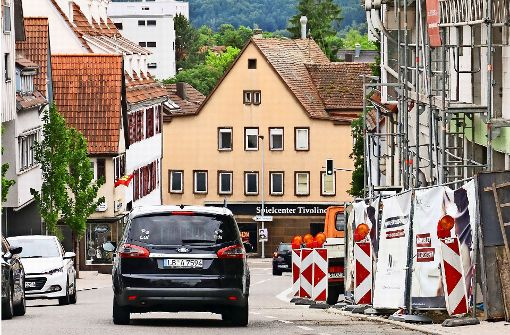 Wieder  freie Fahrt   auf der  Grabenstraße