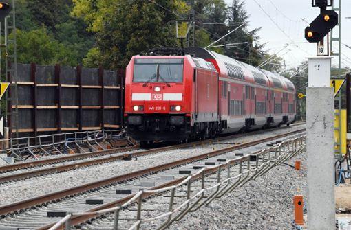 Rheintalbahn bei Lahr gesperrt