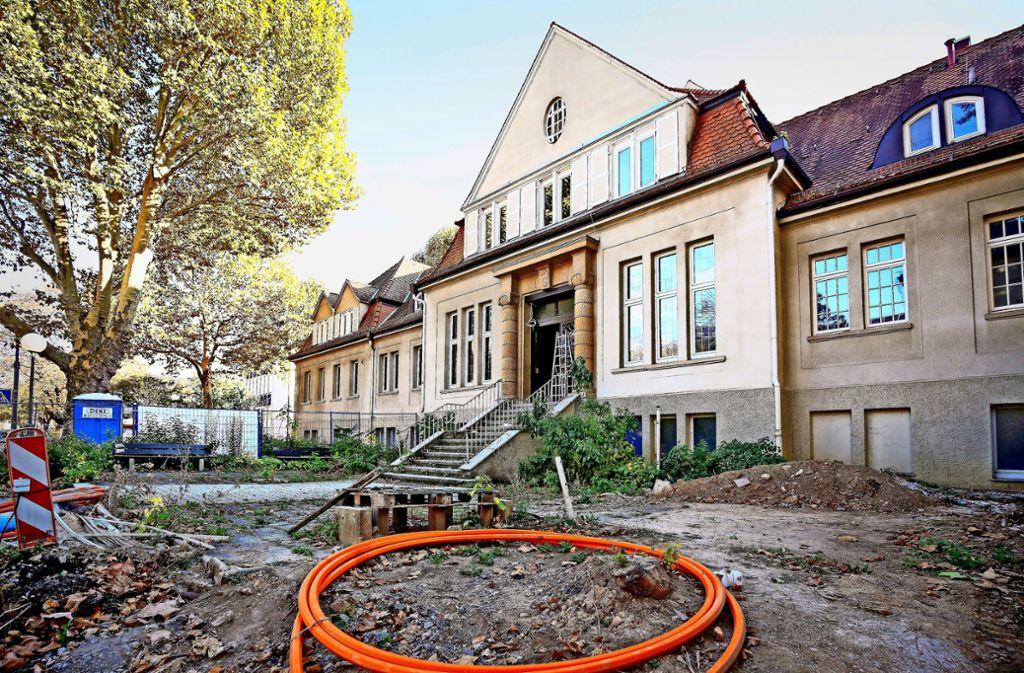 Die  Bauarbeiten am Jugendtreff in der Stadtbadmensa dürfen fortgesetzt werden. Foto: factum/Archiv