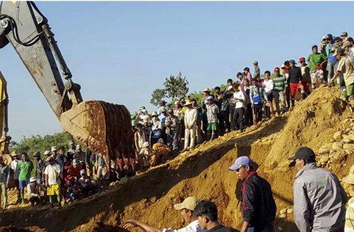 Bereits mehr als 110 Tote nach Erdrutsch