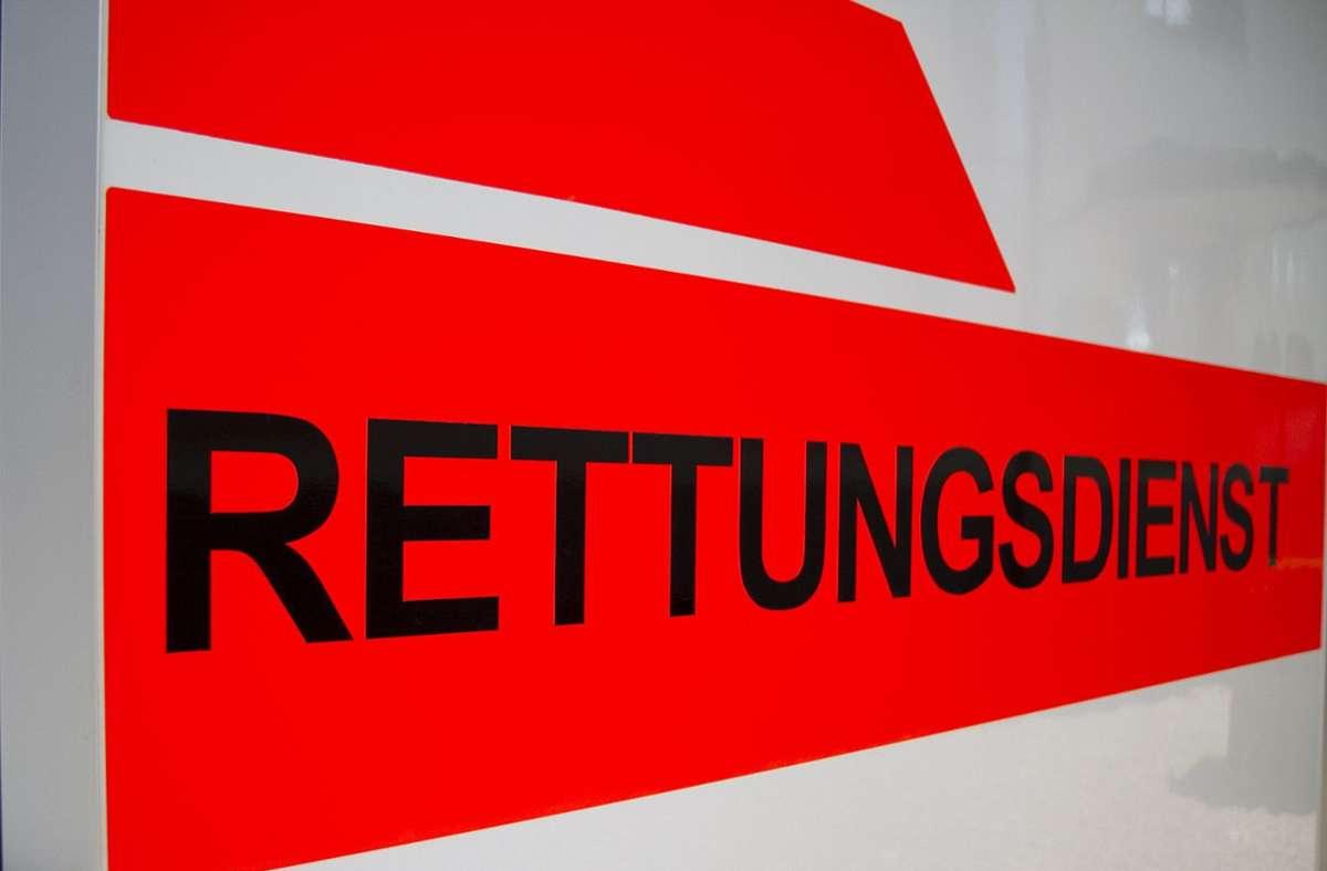 Die 55-jährige Radfahrerin wurde in ein Krankenhaus gebracht. Foto: Eibner-Pressefoto/Fleig