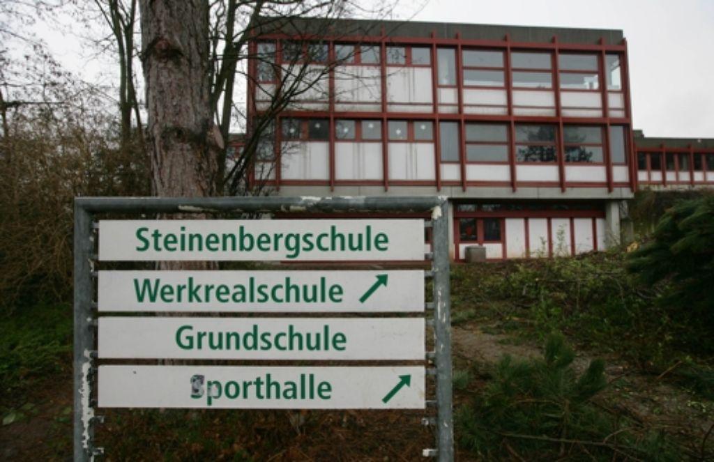 An der Steinenbergschule sind mehrere Bäume gefällt worden. Foto: Zweygarth